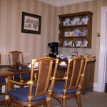 Typical Lakeland guest house dining room - very nice