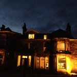 Tredethy House at night