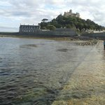An hours walk along the coast is St Michael's Mount - well worth a visit