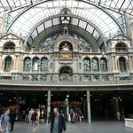 Antwerp Station Interior Facade