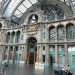 Antwerp Station facade