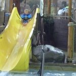 Enjoying the slide