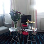 What a lovely surprise thanks to my Husband and Hotel Lorette Opera