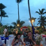one of the Many special dinners they have (almost every night)- this was Dominican Night-include