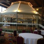 Dance floor gazebo
