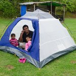 Our personal tent
