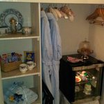 Friar's room - includes  fridge with milk, water, wine and other goodies like crisps chocolates,