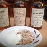 homemade yogurt and homemade muesli. whiskies were from night before!