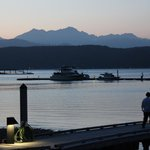 Alderbrook and the Hood Canal at Dusk