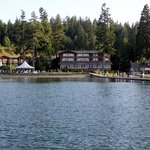 View of Alderbrook from the Dock
