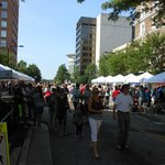 Saturday Farmers market on Main St