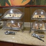 Breakfast Bar At Fairfield Inn   Marshall, TX