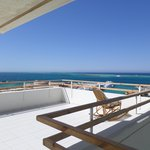 Private sundeck as part of this room