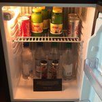 ' Complementary soft drinks in the mini bar fridge...Nice Touch'