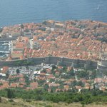 View of Old Town Dubrovnik