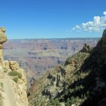 Views of the Grand Canyon from South Kaibab Trail