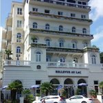 The Hotel Bellevue in Lugano, Switzerland