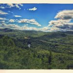 View from scenic overlook hike