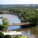 View of the Torrens River from our room