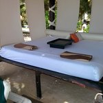 Have your beach butler make you up a bed.