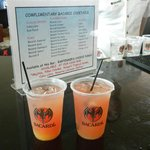 Two complimentary drinks with the Barcardi  Tour