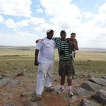 With Martin at The Mara View Point