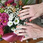 My mums nails she had done at moddershall oaks, she loves them.