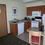 GOOD SIZE FULL KITCHEN W/ DISHWASHER AND FULL OVEN/MICROWAVE