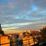 Sunrise in Paris - View From Room 62 Terrace