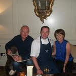 dinner in macnean restaurant with neven maguire and pauline weir