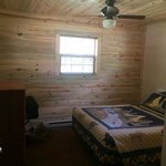 Cabin 31 - one of two bedrooms in this cabin