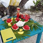 Fruit Spread on Pigeon Cay