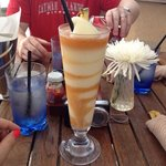 Piña colada drinks were fantastic