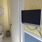Small wall-mount TV
