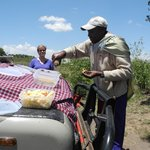 Lunch during an all day game drive - quich, salad and more
