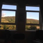 the view from our bedroom as I lay in bed......wonderful!