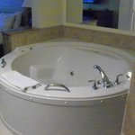 Jacuzzi tub in master BR