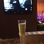 "A welcome Pilsner and ""The .Maltese Falcon"" at The Nook bar"