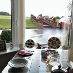 A great view looking out from my breakfast table.