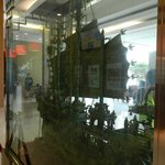 Jade Oriental Chinese sailing vessel in Reception.