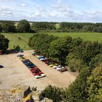 Triumph Stags x 26 from Caister Castle Tower