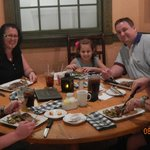 Evening meal at hotel signiture restaraunt BOATWRIGHTS