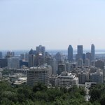View from Mont Royal over city