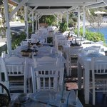 A beautiful terrasse to have your meals
