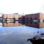 Beside the Holiday Inn Express, albert Dock, liverpool.