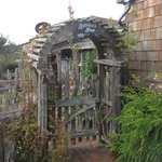Front gate - rustic and charming