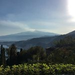 Mount Etna rumbling away