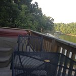 Our deck over looking the lake.