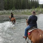 Fording the Bow River