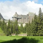 View back to Fairmont Banff Springs